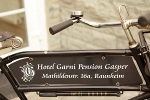 A Bike of Business Hotel Garni