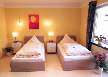 Doppelzimmer bei Business Hotel Raunheim